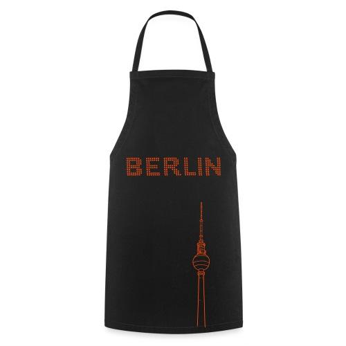 BERLIN Punktschrift (neon-orange) - Kochschürze