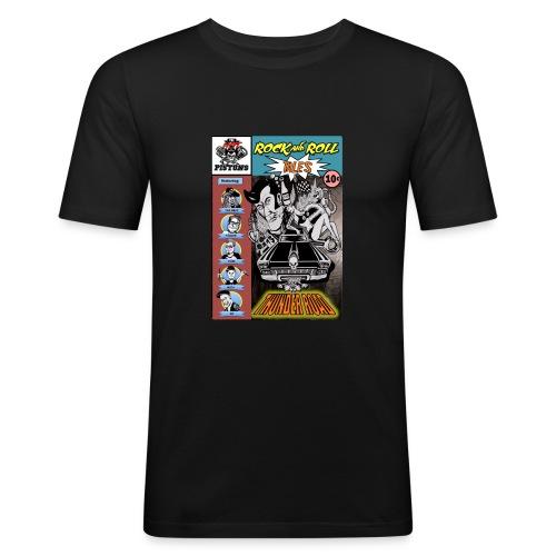 Thunderroad - Männer Slim Fit T-Shirt