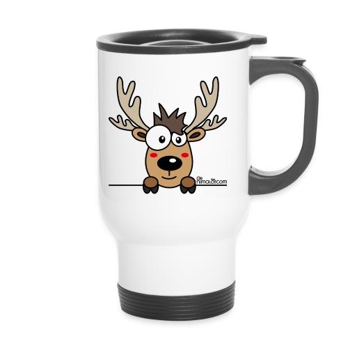 Mug Thermos Baby Caribou, Renne, Noël - Mug thermos