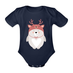 WINTER BEAR - Baby Kurzarm-Body