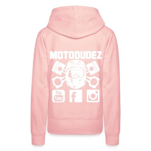 Frauen Kapuzenpullover MOTODUDEZ - Frauen Premium Hoodie