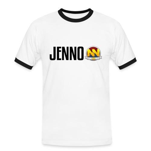 Jenno   T-shirt   2-farvet - Herre kontrast-T-shirt