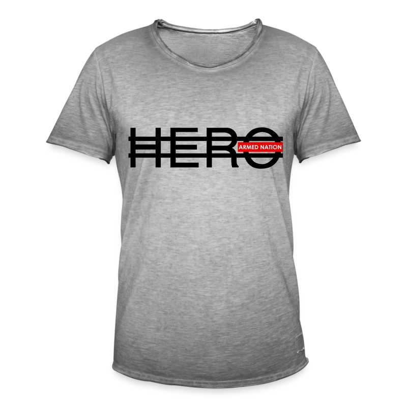 VINTAGE HERO B 2017 - Männer Vintage T-Shirt