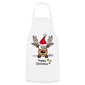 Tablier Baby Renne, Noël, Happy Christmas - Tablier de cuisine
