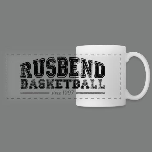 Rusbend Big Logo Tasse weiß - Panoramatasse