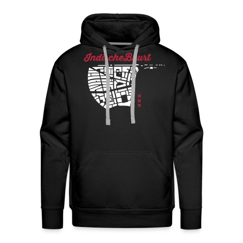 Indische Buurt A'dam Man - Mannen Premium hoodie