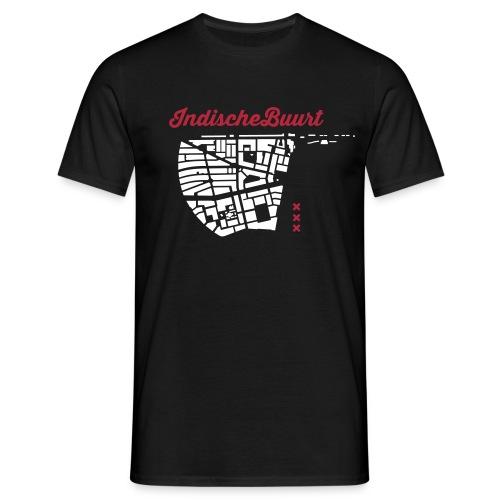 Indische Buurt A'dam Man - Mannen T-shirt
