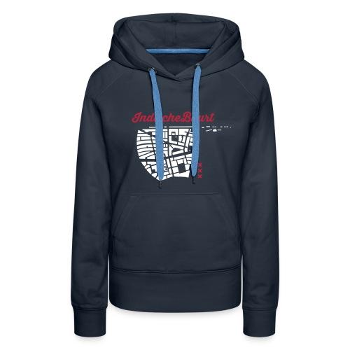 Indische Buurt A'dam Vrouw - Vrouwen Premium hoodie