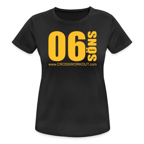 CrossWorkout ATHLETE 06 - Frauen - Frauen T-Shirt atmungsaktiv
