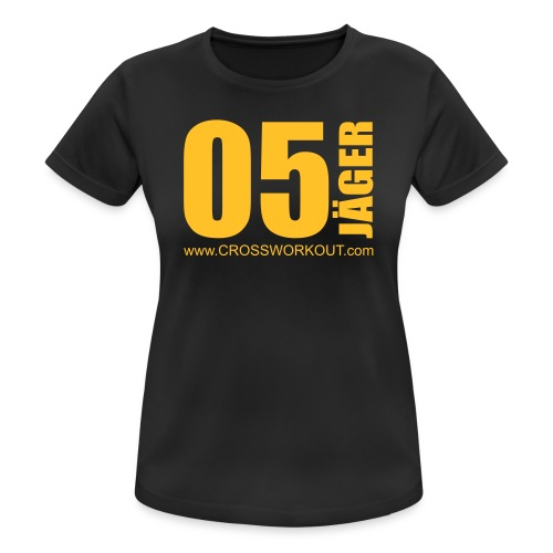 CrossWorkout ATHLETE 05 - Frauen - Frauen T-Shirt atmungsaktiv