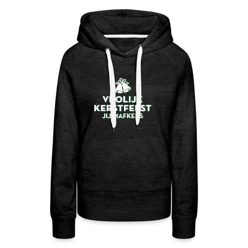Vrolijk Kerstfeest vrouwen premium hoodie - Vrouwen Premium hoodie