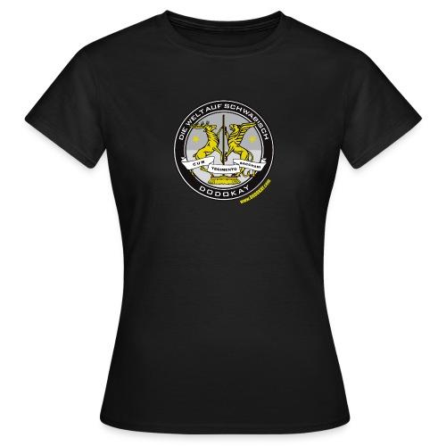 DIE WELT AUF SCHWÄBISCH - T-Shirt Mädels - Frauen T-Shirt
