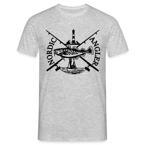 Nordic Angler Design - Männer T-Shirt