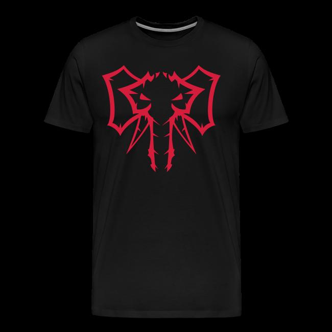 Elephant Red  - Herre premium T-shirt