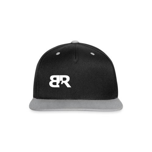 Basecap Front logo - Contrast snapback cap