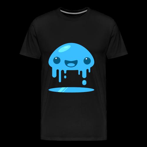 Slimey Blue - Herre premium T-shirt - Herre premium T-shirt