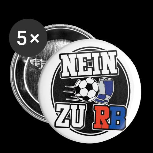 Nein zu RB Button - Buttons mittel 32 mm (5er Pack)