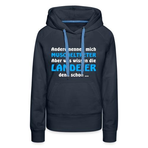 Insulaner vs Landeier - Frauen Premium Hoodie