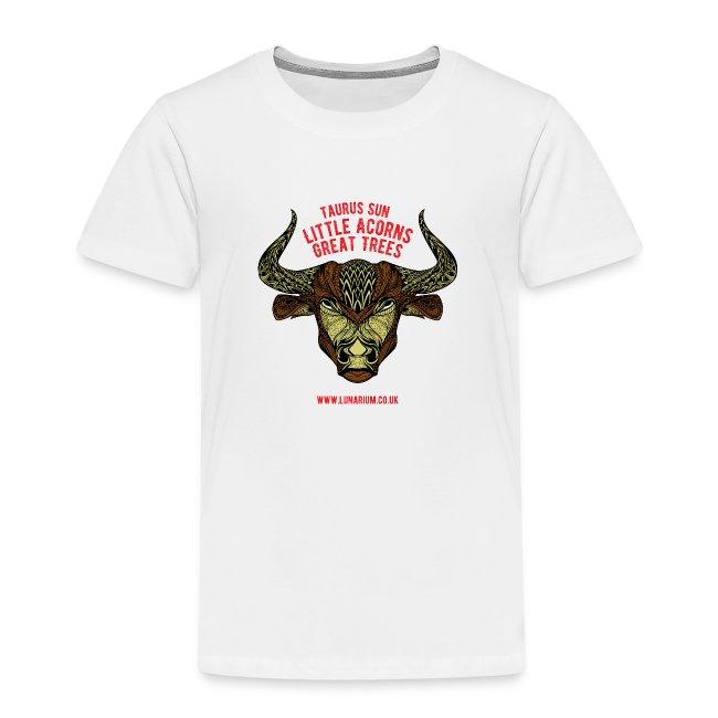 Taurus Sun Kids' Premium T-Shirt