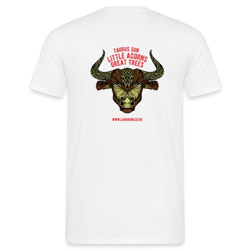 Taurus Sun Men's T-Shirt  - Men's T-Shirt