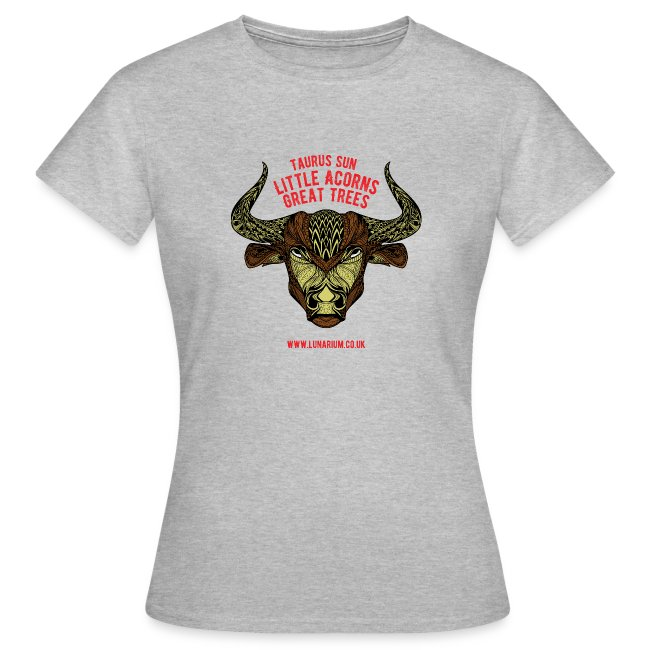 Taurus Sun Women's T-Shirt