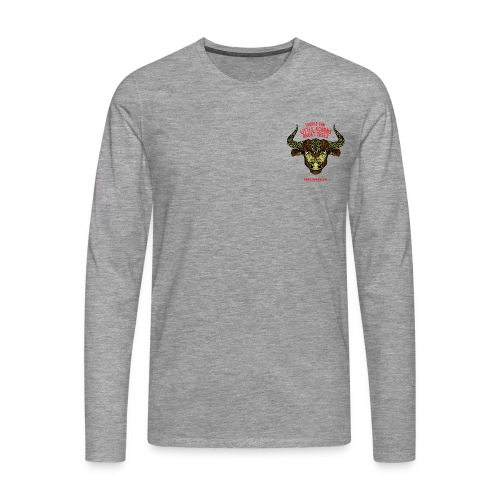 Taurus Sun Men's Premium Longsleeve Shirt - Men's Premium Longsleeve Shirt