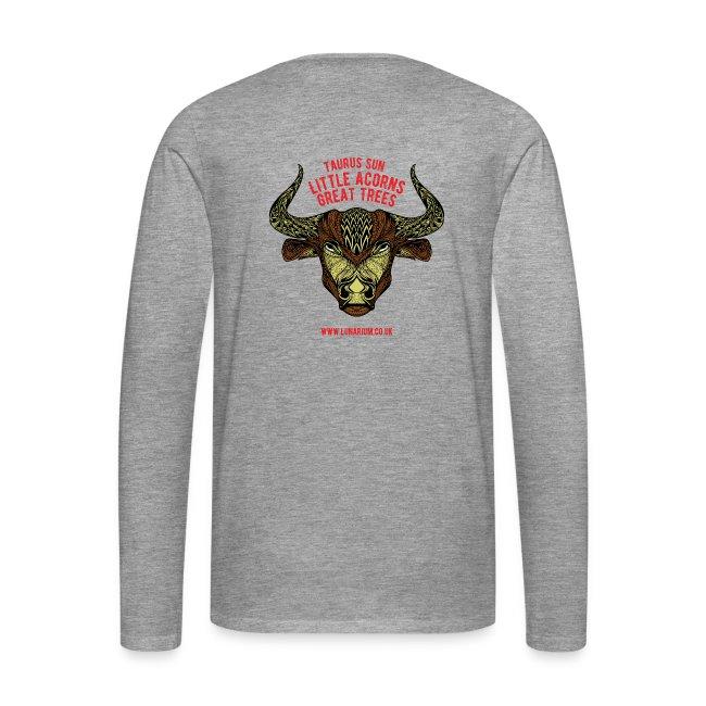 Taurus Sun Men's Premium Longsleeve Shirt