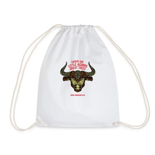 Taurus Sun Drawstring Bag - Drawstring Bag