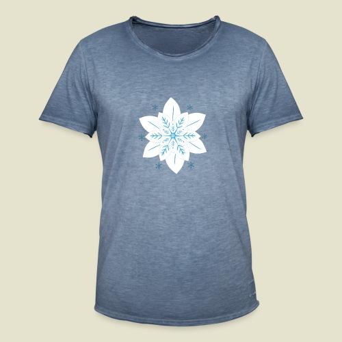 Kristall-Mandala Herren - Männer Vintage T-Shirt