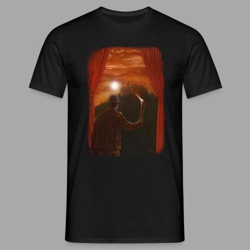 Abenteuer in Marburg, Grunge - Männer T-Shirt