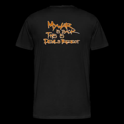 mywar reject - Männer Premium T-Shirt