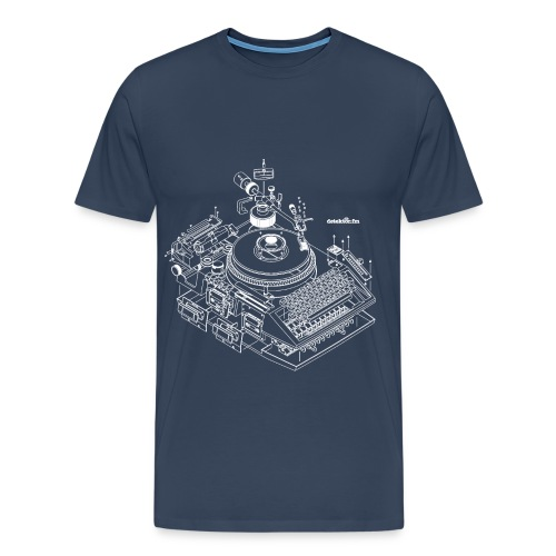 detektor.fm-T-Shirt für Männer - Männer Premium T-Shirt