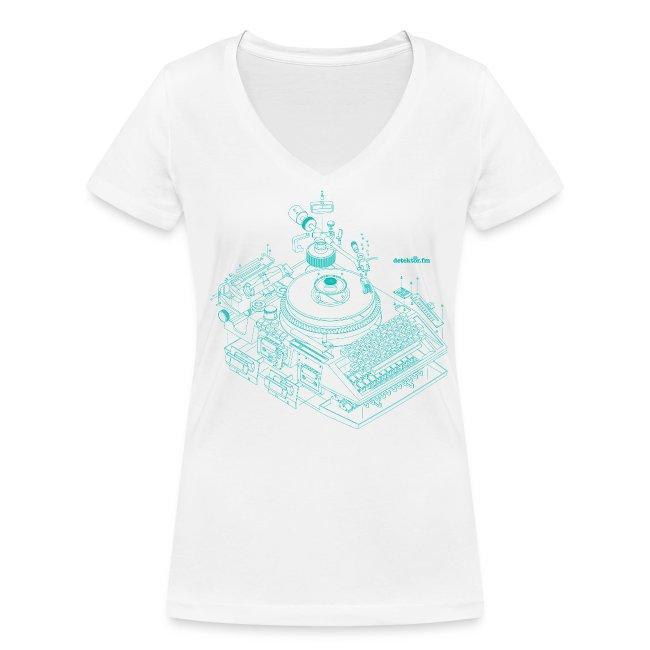 detektor.fm-T-Shirt für Frauen