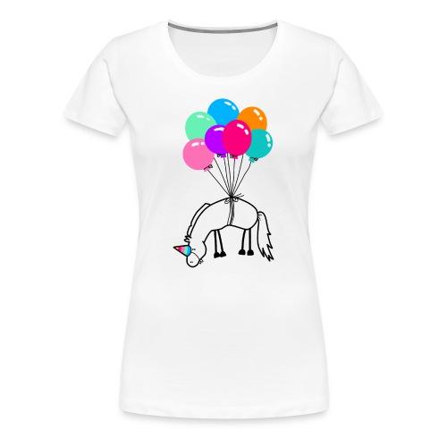 Ich bin ein Einhorn T-Shirts - Frauen Premium T-Shirt