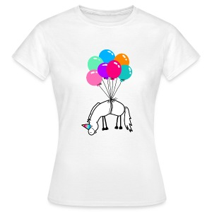 Ich bin ein Einhorn T-Shirts - Frauen T-Shirt