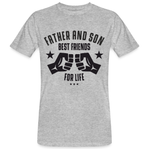 Father and Son - Männer Bio-T-Shirt