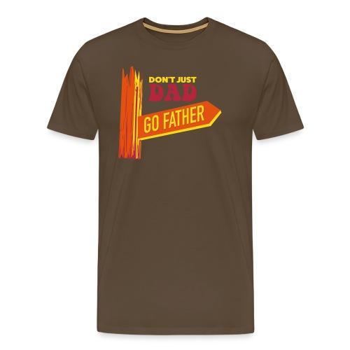 GO FARTHER - Men's Premium T-Shirt