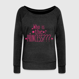 who is the princess Sweat-shirts - Pull Femme col bateau de Bella
