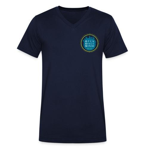 Open Space Scrum Munich - Männer Fan Shirt - Männer Bio-T-Shirt mit V-Ausschnitt von Stanley & Stella