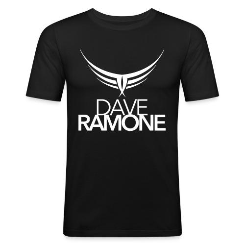 Dave Ramone Logo TEE Slim - Männer Slim Fit T-Shirt