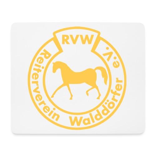 RVW Mauspad Gelb - Mousepad (Querformat)