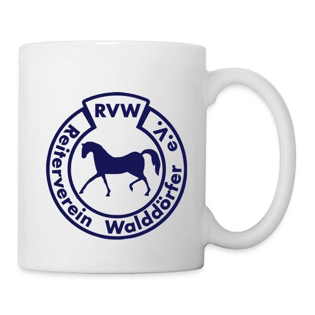 RVW Tasse blau