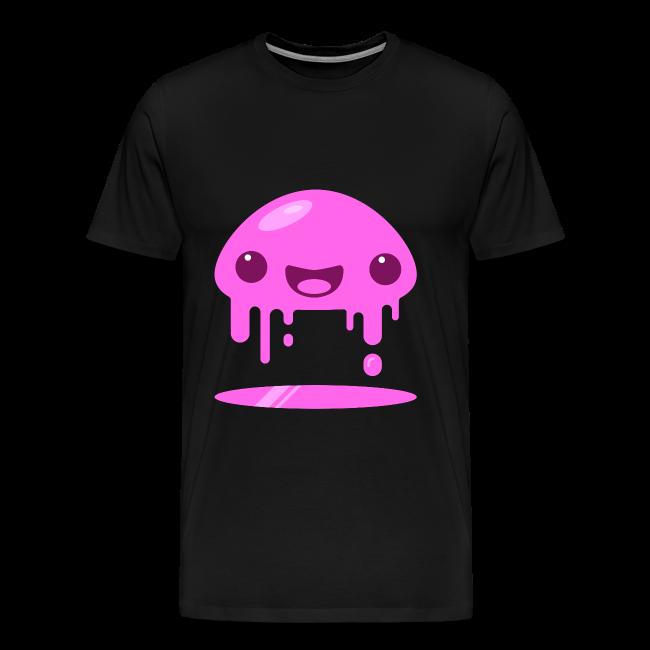 Slimey Pink - Herre premium T-shirt