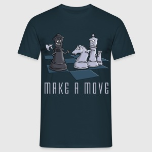chess_make_a move_11_2016 T-Shirts - Männer T-Shirt