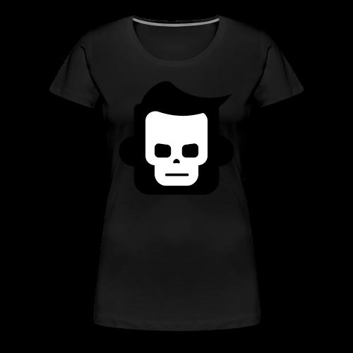 X-Ray Skull - Dame premium T-shirt - Dame premium T-shirt