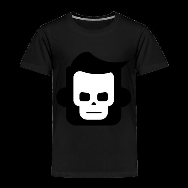 X-Ray Skull - Børne premium T-shirt