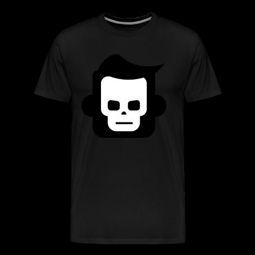X-Ray Skull - Herre premium T-shirt - Herre premium T-shirt