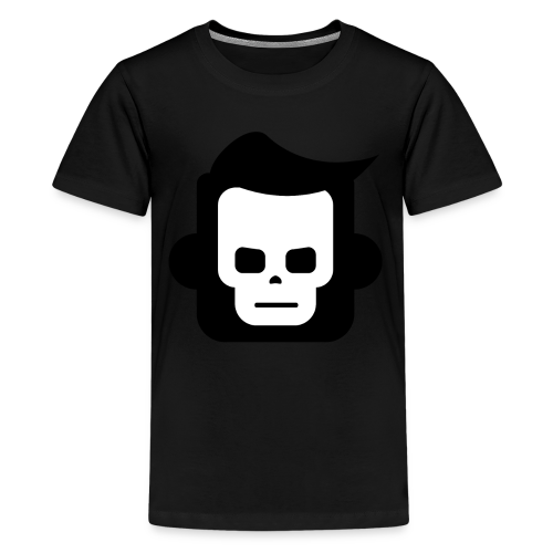 X-Ray Skull - Teenager premium T-shirt - Teenager premium T-shirt