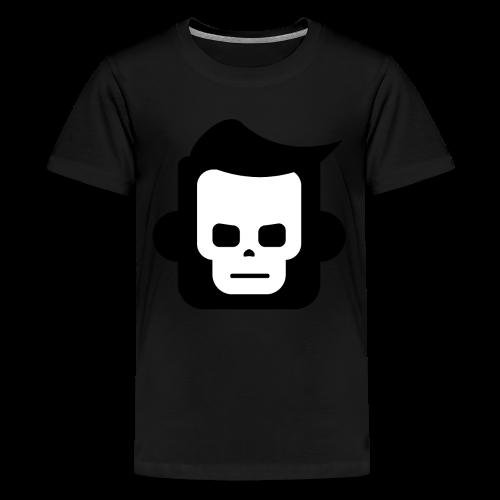 X-Ray Skull - Teenager premium T-shirt - Teenager premium T-shirt