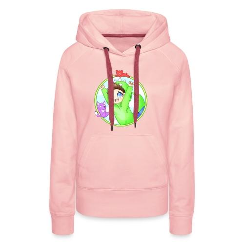 Premium Hoodie   Frauen   Dinofy - Frauen Premium Hoodie